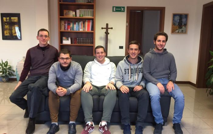 I giovani di casa sant'Andrea dell'anno 2019