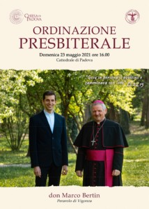 Ordinazione Presbiterale di don Marco Bertin
